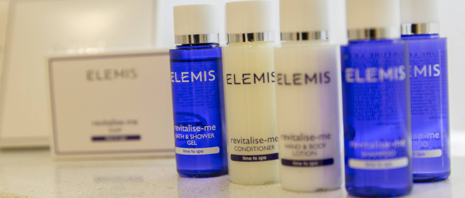 Elemis guest toiletries PREMIER SUITES PLUS Rotterdam