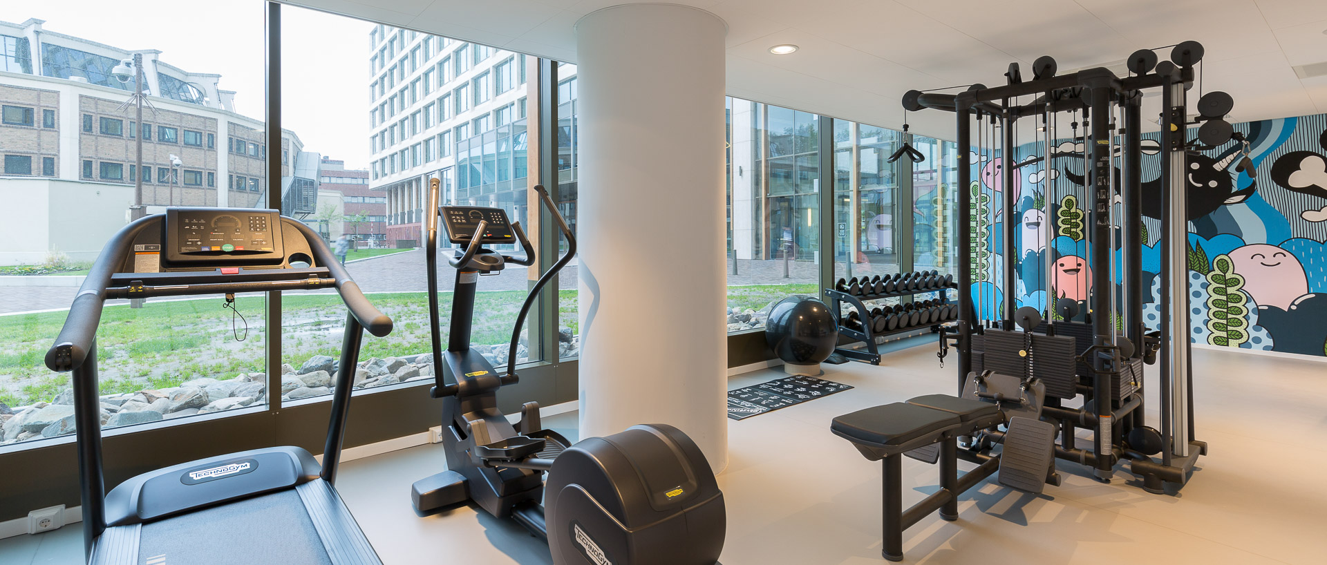 Fitness at PREMIER SUITES PLUS Rotterdam