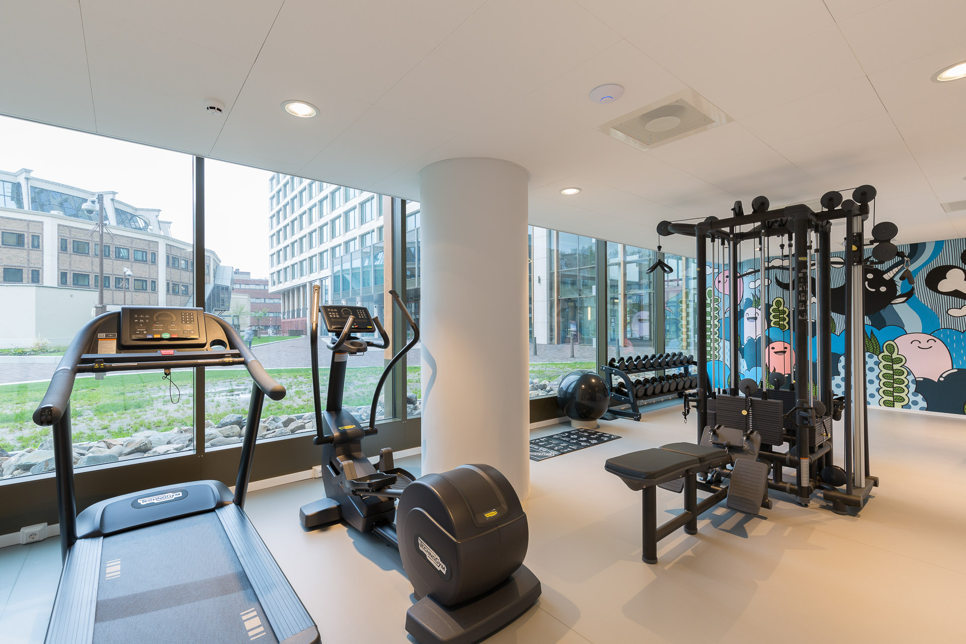 Fitness PREMIER SUITES PLUS Rotterdam